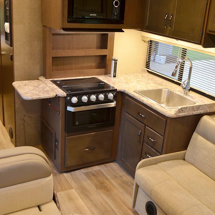 Kitchen with Sink