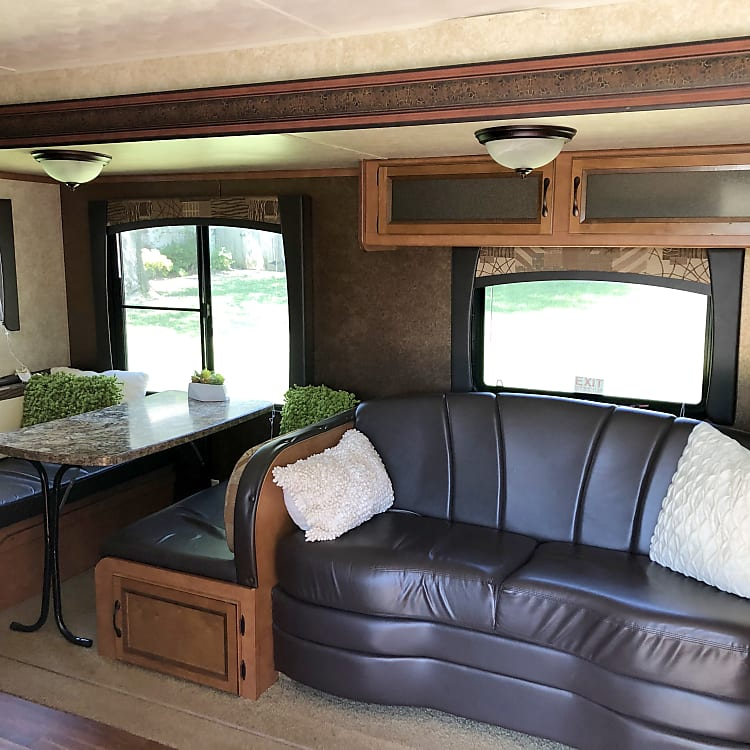 Cozy Sofa and Dinette