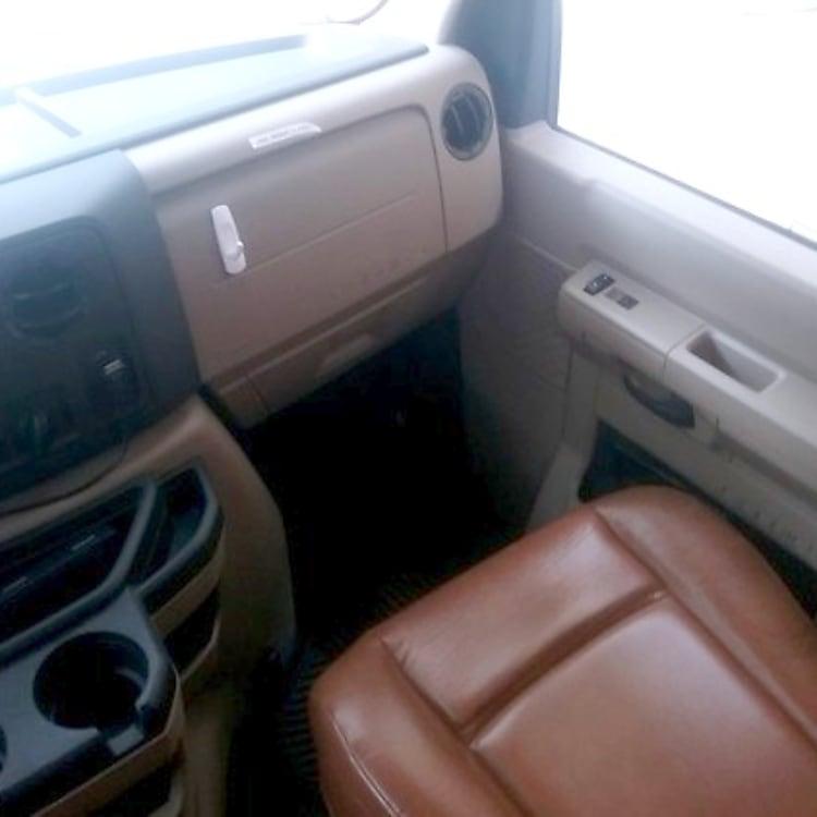 Comfortable passenger seat