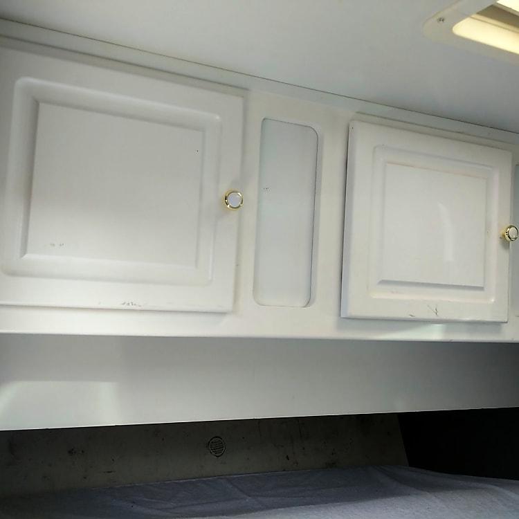 Indoor cabinets for storage