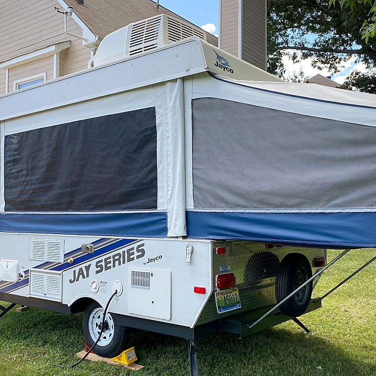 Rear View of the Camper