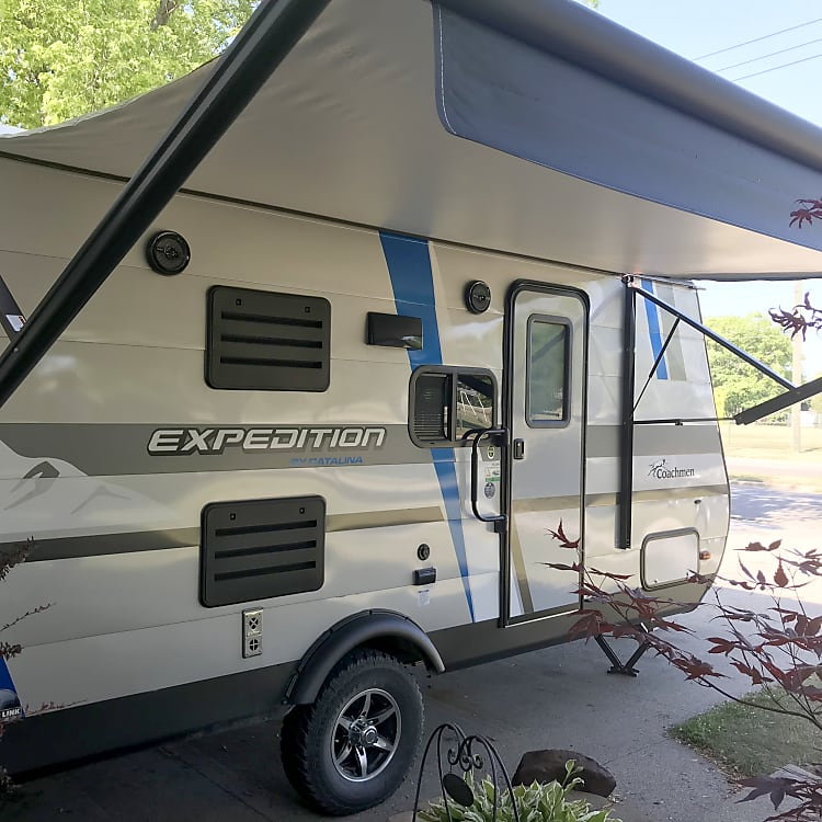 Power awning 13 foot