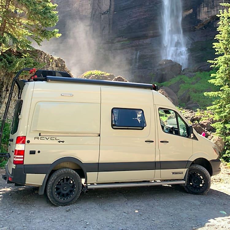 Telluride's stunning Bridal Veil Falls
