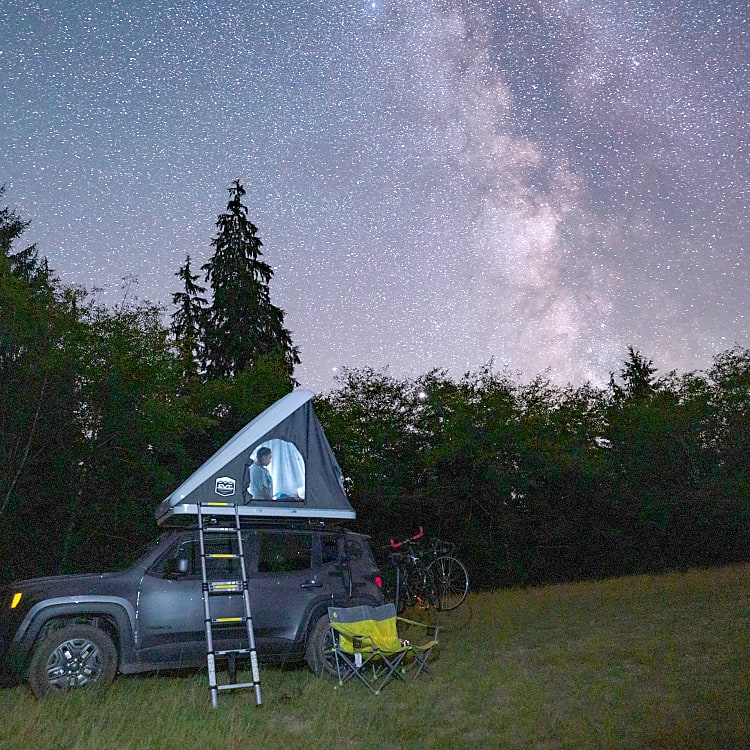 Night time under the stars