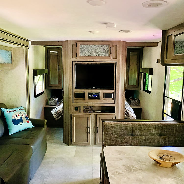 Roomy, comfortable living space