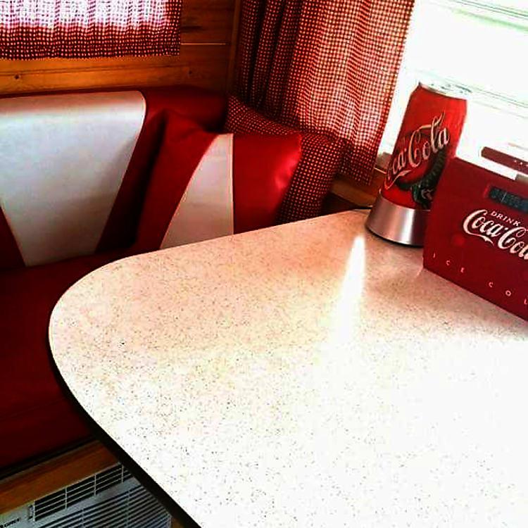 50's diner theme.
