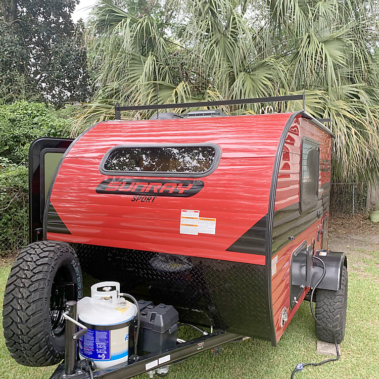 Mean little camping machine!