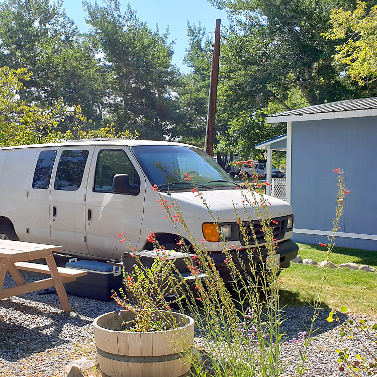 Fit into normal parking spots and camp sites