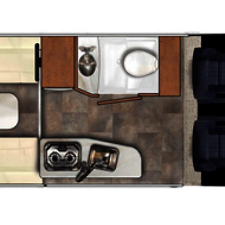 Versatile floor plan