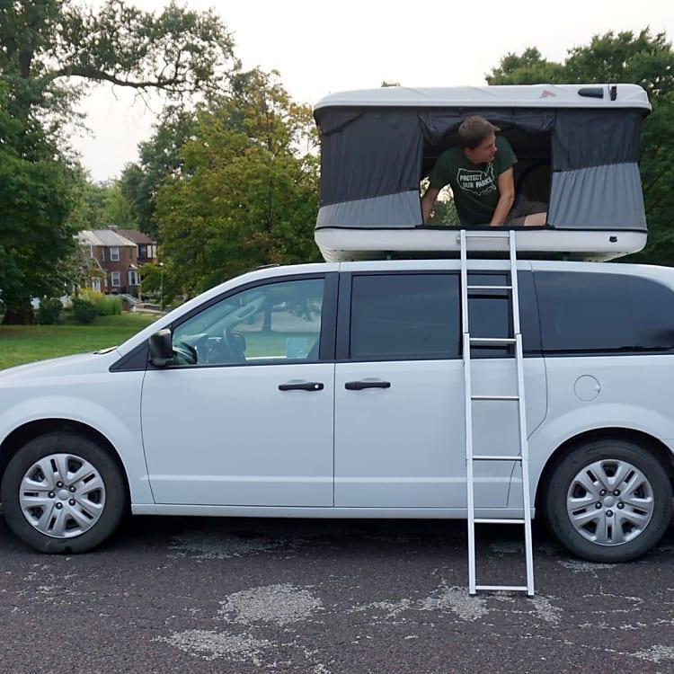 Betty the Adventure Van - Go anywhere!