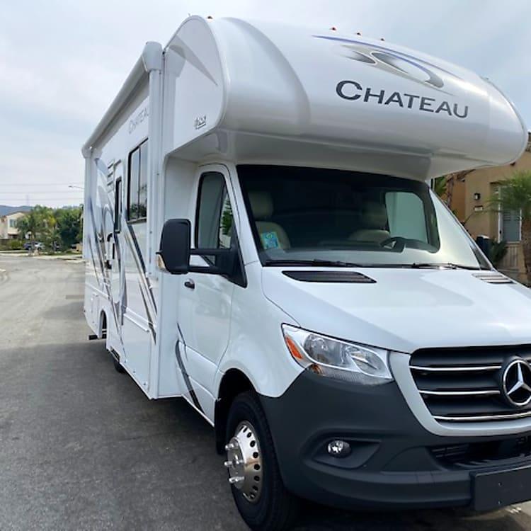 2021 Chateau Diesel Sprinter Class C