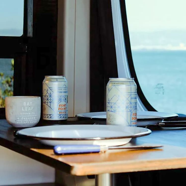 Dining table/work area with a view