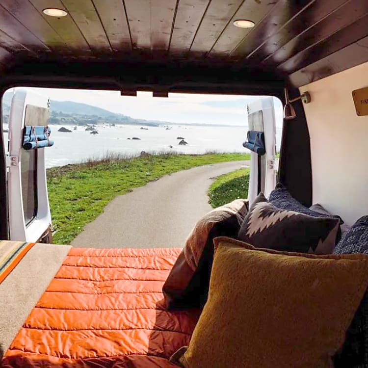 """Room with a view (and 5"""" memory foam queen mattress)"""