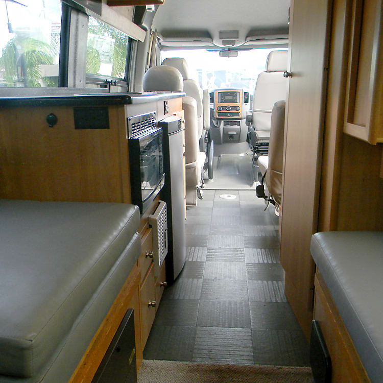 Interior view from rear sofa