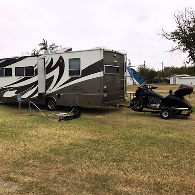 camping in West Texas