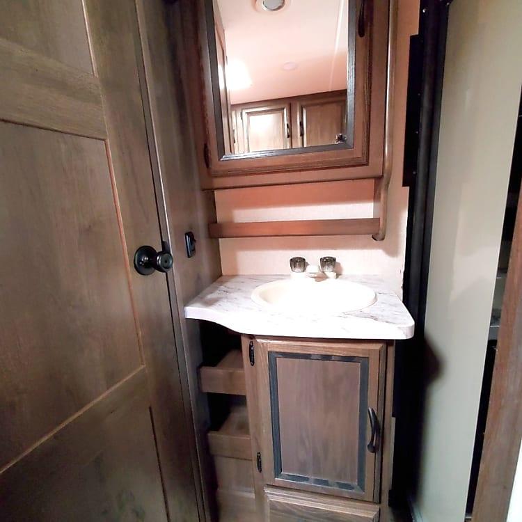 sink with plenty of storage