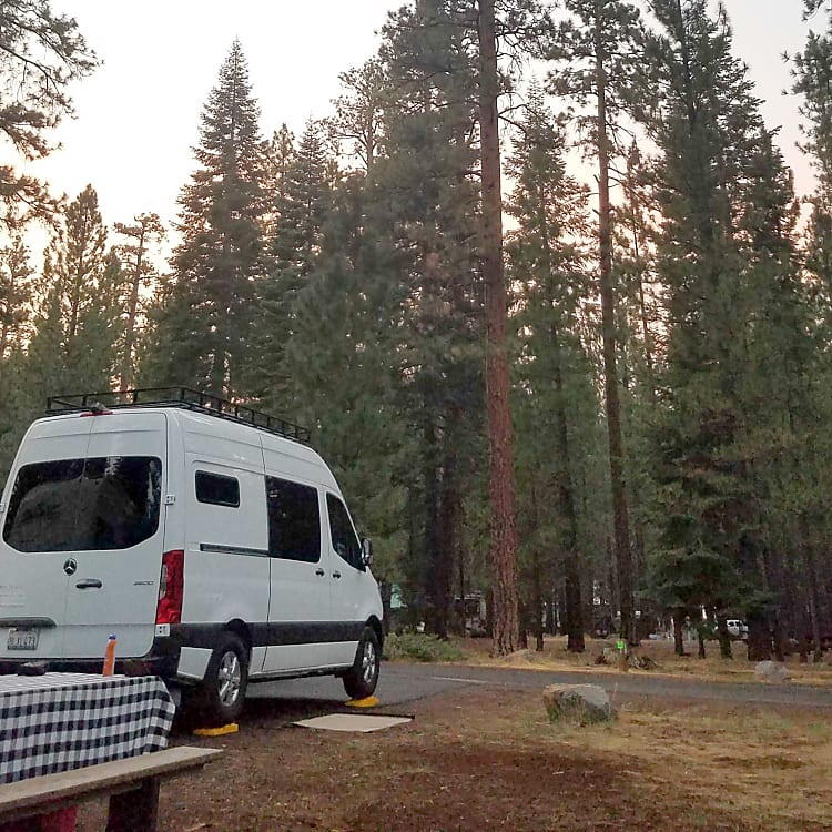 Merrill campground,  Eagle Lake, CA