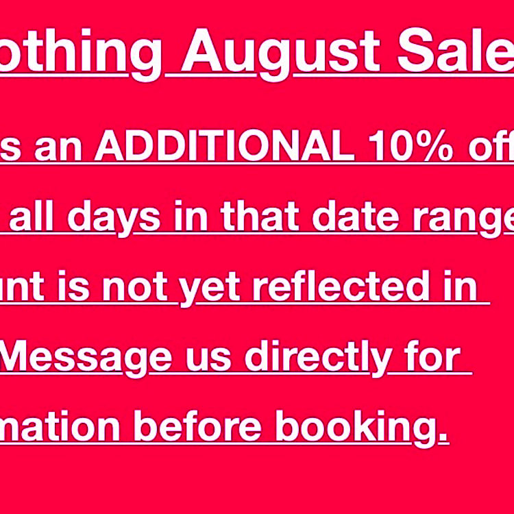 Discount applies to rental rate.  Does not affect mileage fee, insurance, or outdoorsy service fees.  Contact us for more information and pricing.