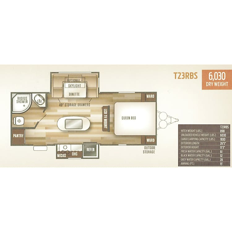 Floor Plan with specifications
