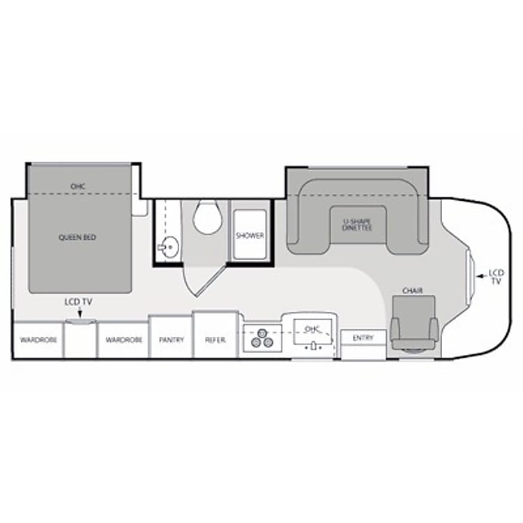 Interior floorplan