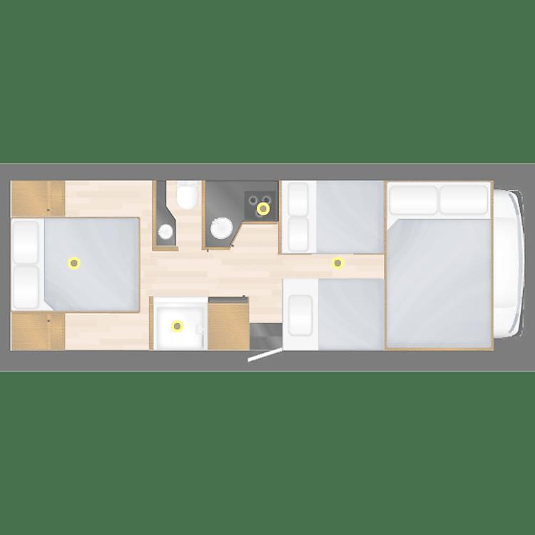 Night Layout Floorplan