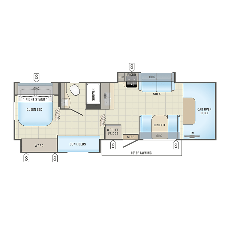31XL Floorplan