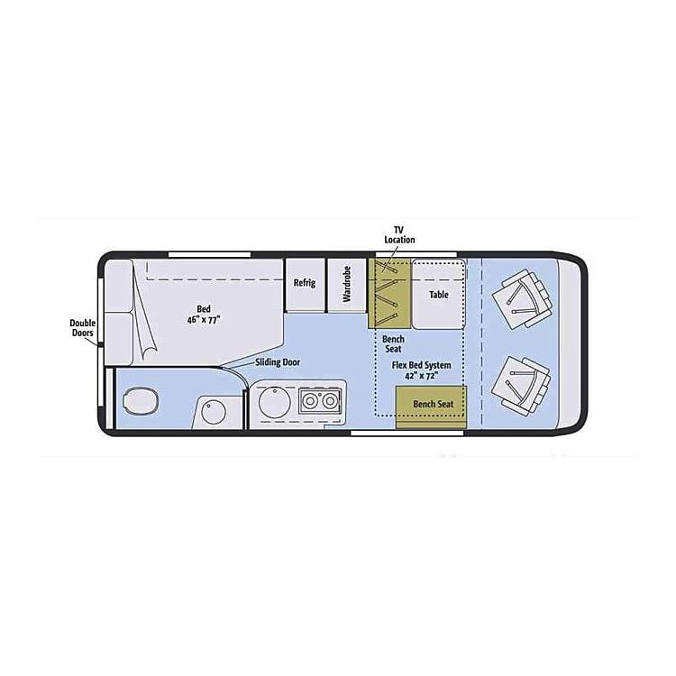 Plan layout.