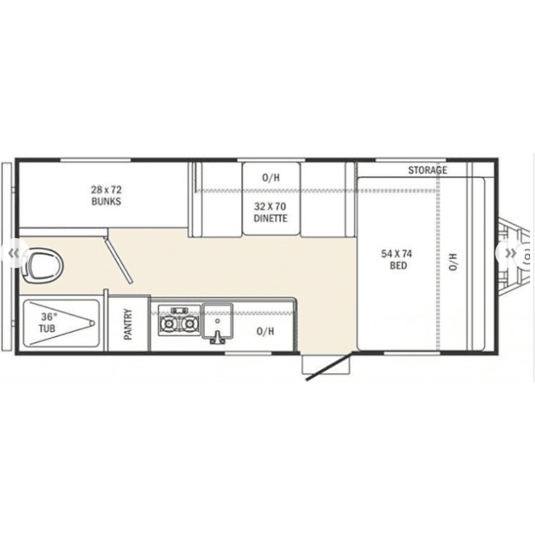 Family friendly floor plan with lots of storage