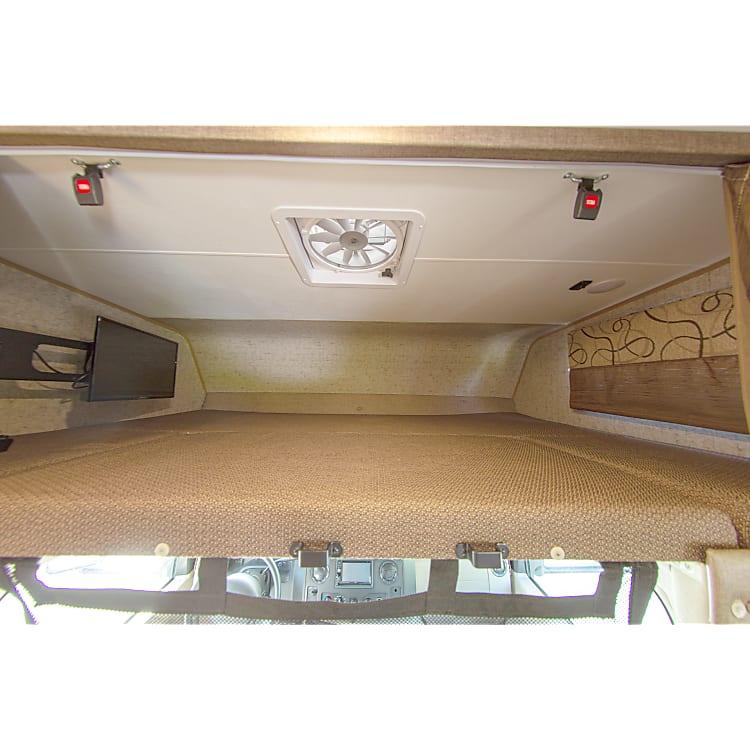 Cab bunk