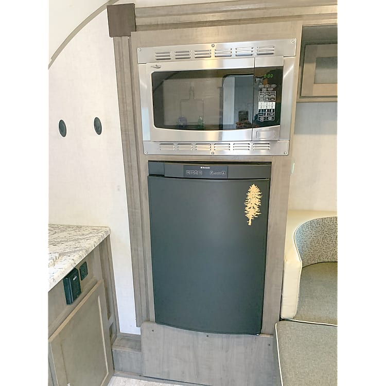 Fridge and Convection Oven/Microwave