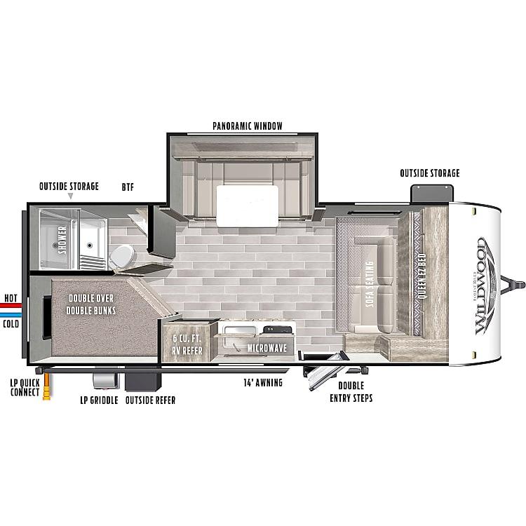 Smart, efficient floorplan