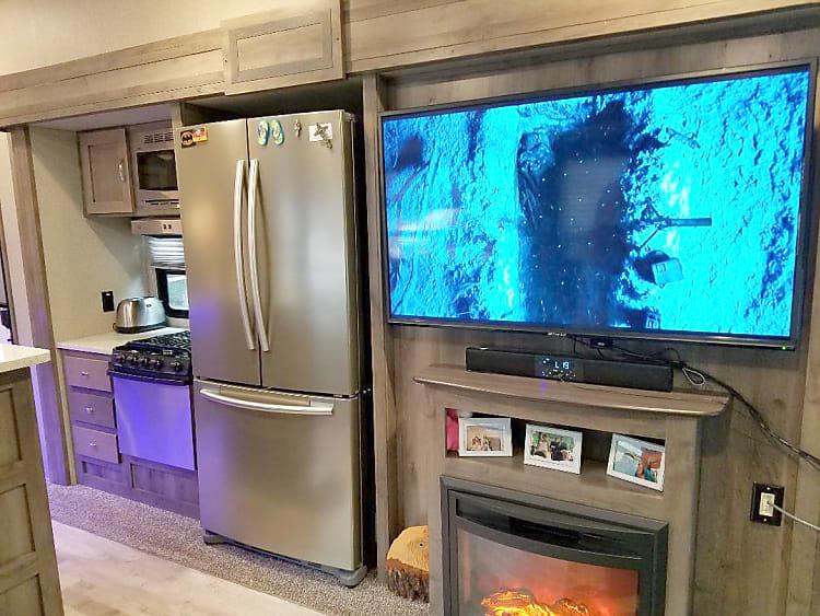 Large TV Fridge