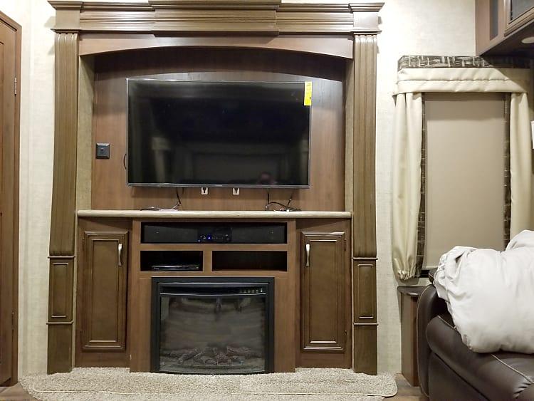 50 inch SMART TV in family room.