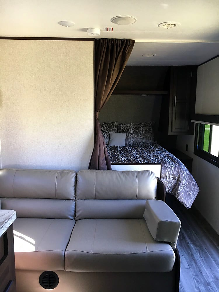 pull down couch
