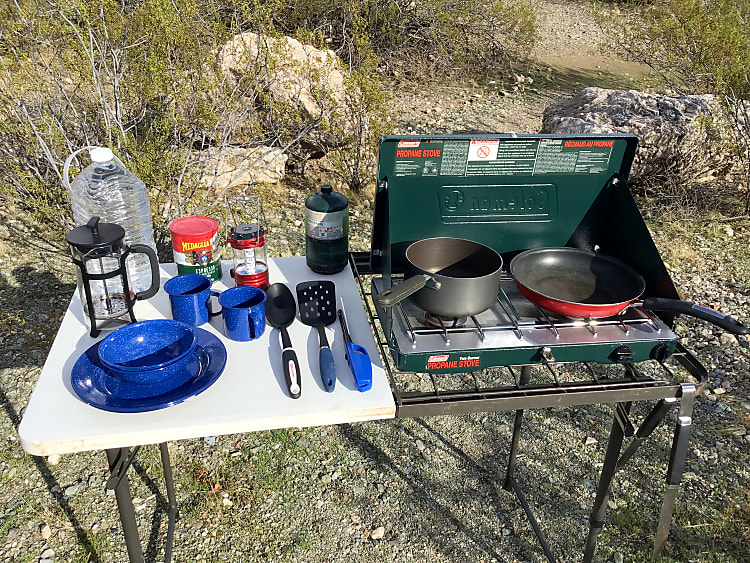 We include all the camping gear you need for your trip! (Comprehensive list of gear on our description page)