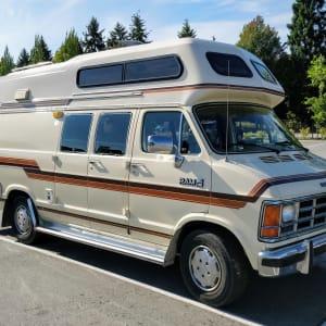 Vintage Adventure Wagon -