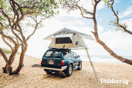 0Toyota 4Runner 4x4 Roof Tent Camper  Kalaheo, HI