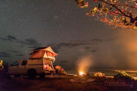Nissan Frontier Overland Roof Tent  Koloa, Hawaii