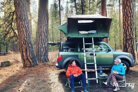 0Stargazer: Honda Element w Rooftop Tent  Bend, OR