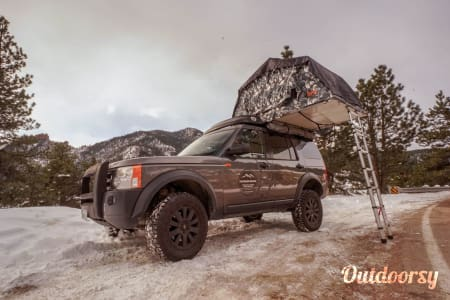 0Colorado Safari LR3 with Tepui Roof Top Tent  Englewood, CO