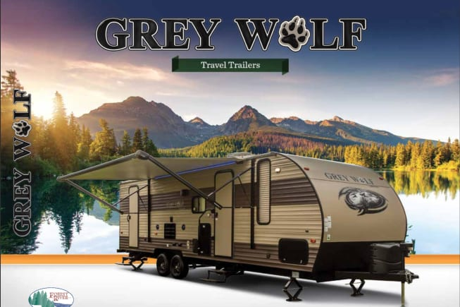2017 FOREST RIVER GREY WOLF LIMITED EDITION