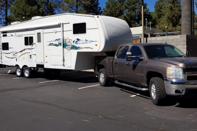 Camper will be delivered to your specified location , set up and ready for your arrival!