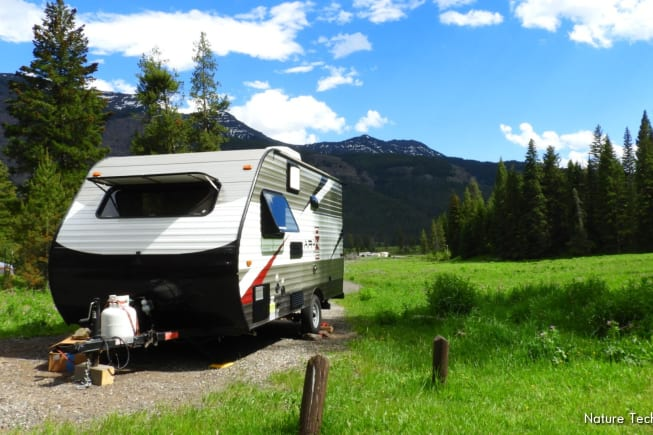 Fits into smaller campgrounds!