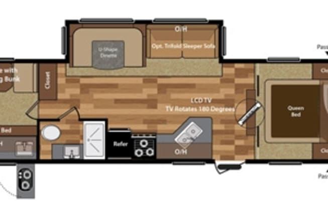 2017 Keystone Hideout available for rent in Baton Rouge LA