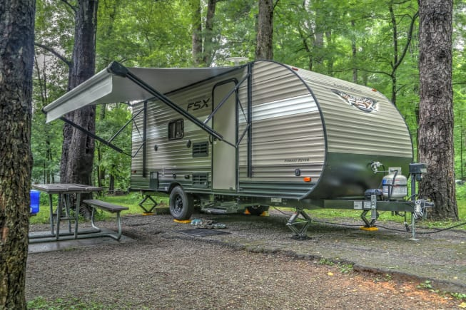 2018 Forest River Wildwood X-Lite available for rent in Mansfield TX