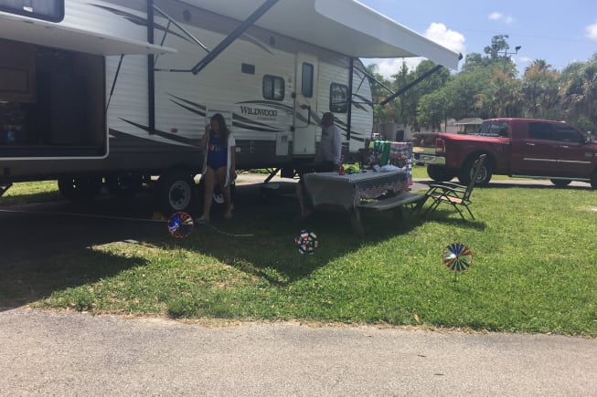 2017 Forest River Wildwood available for rent in Lehigh Acres FL