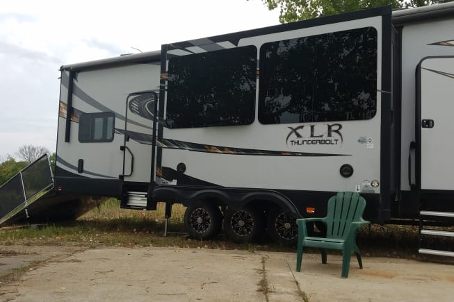2015 Forest River Xlr Thunrderbolt available for rent in Tonganoxie KS