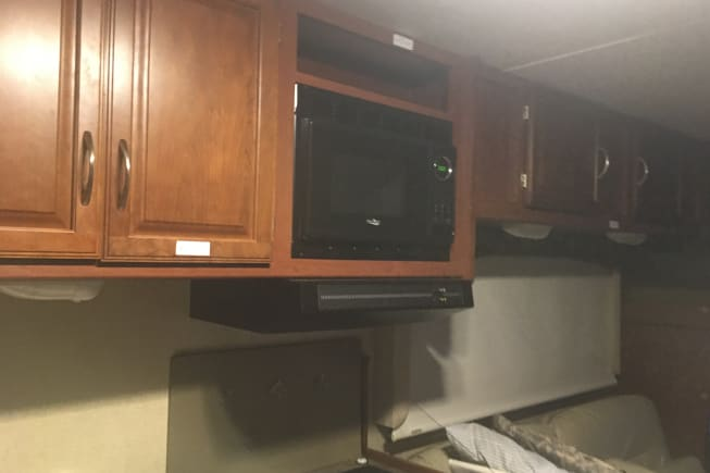 Fully functional microwave, TV and entertainment syste,