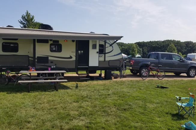 2017 Forest River Surveyor available for rent in Chanhassen MN