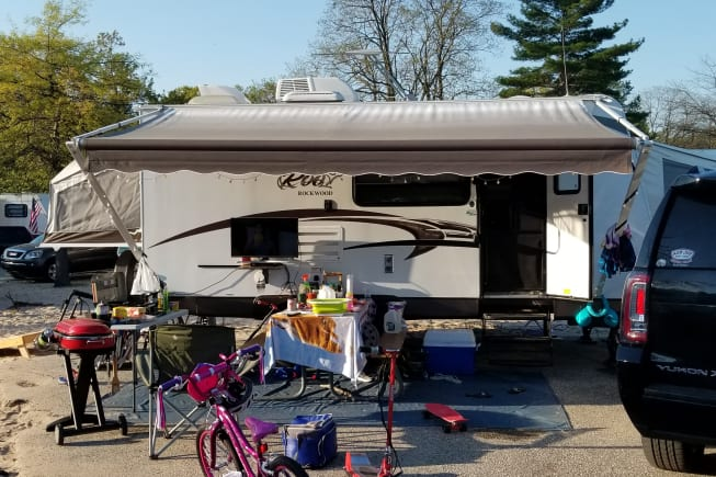 2015 Forest River Rockwood Roo available for rent in Grand Rapids MI